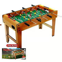 Футбольный стол деревянный на ножках