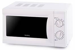 Белая микроволновая печь Elenberg MS 2009 M 20 л 700 Вт практичная и простая в управлении микроволновка