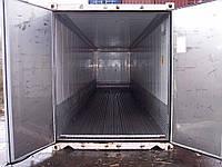Рефрижераторный контейнер с обогревом 20 футов б/у 1997-1999 гг. CARRIER