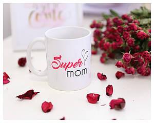 "Чашка ""Super mom"""