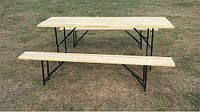 Аренда Комплект стол и лавочка на 8 человек