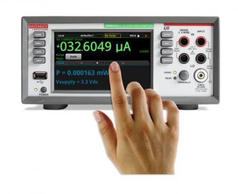 Цифровой мультиметр DMM6500 с сенсорным экраном и разрешением 6½ разрядов