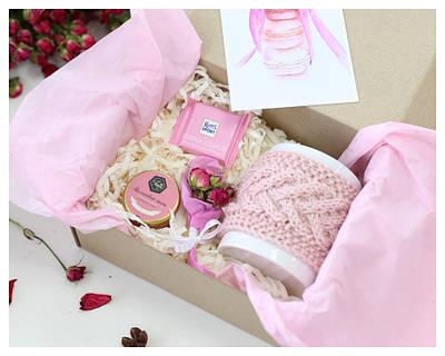 Корпоративні подарунки на 8 березня Київ - набір «Pink»