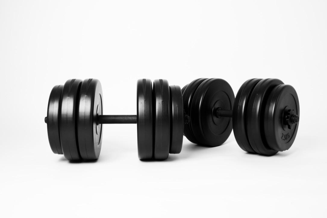 Гантелі 2х25 кг, фото 1