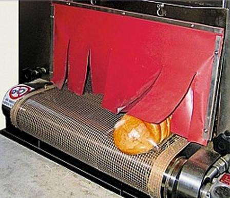 Термостойкий материал для штор термотуннеля, фото 2