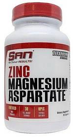 SAN Zinc Magnesium Aspartate (90 caps)
