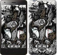 Чехол EndorPhone на Xiaomi Redmi 2 Тату Викинг (4098c-98)