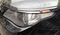 Реснички BMW E60 (накладки на передние фары БМВ Е60)
