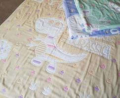 Детский плед Лен (35 слоев марли), размер 110*110 см