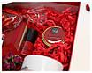 """Корпоративний подарунок до 8 Березня - набір """"Lady in red"""", фото 3"""
