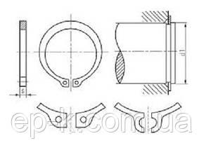 Стопорное кольцо наружное А17 ГОСТ 13942-86, DIN 471, фото 3
