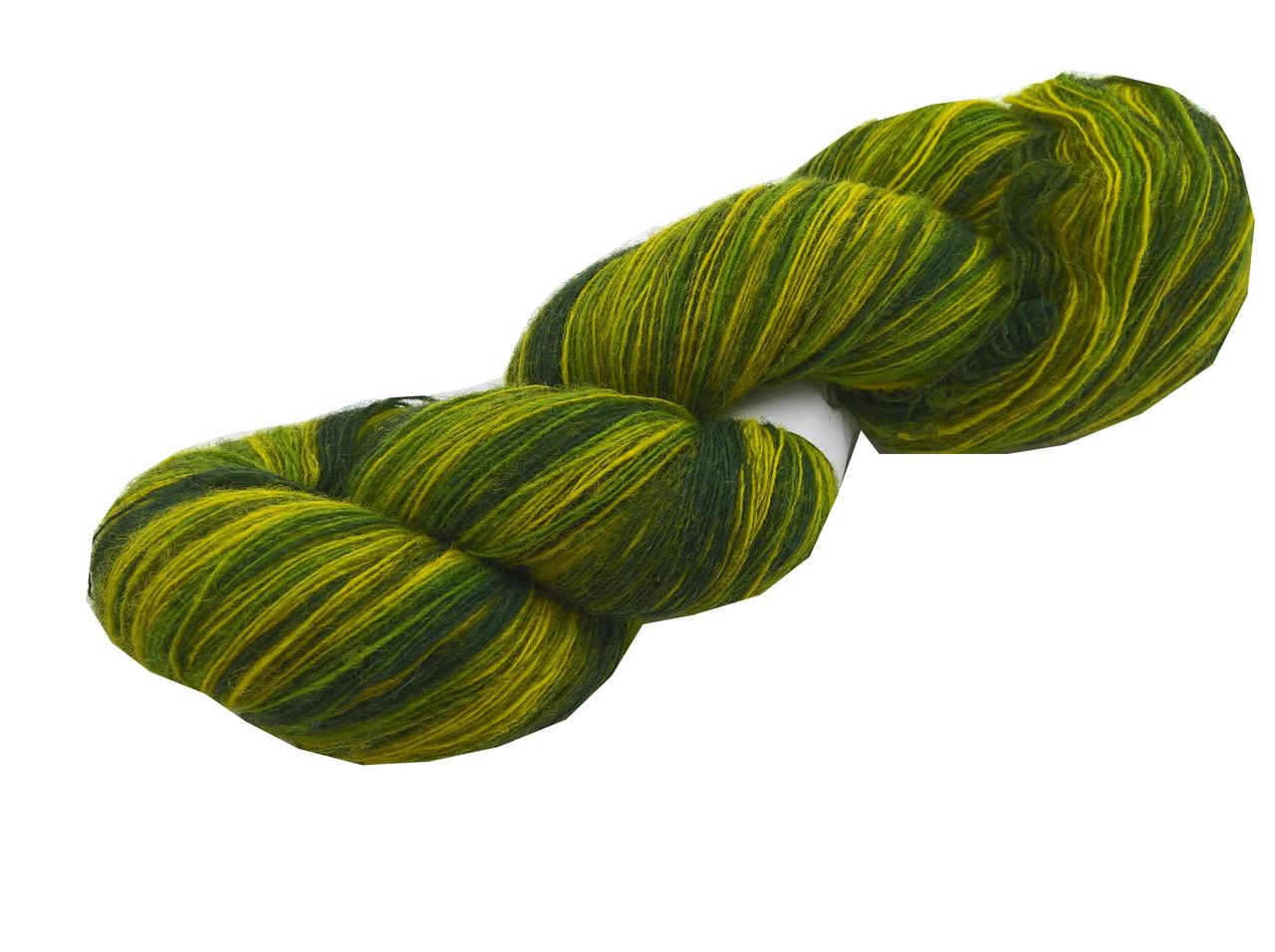 Artistic yarn 8/1, Green Yellow(зелёно-жёлтый)