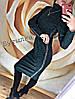 """Платье-гольф миди из ангоры """"Lurex"""" черный, фото 5"""