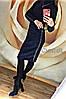 """Платье-гольф миди из ангоры """"Lurex"""" черный, фото 2"""