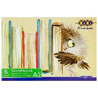 Альбом для малювання А5, 8 аркушів, скоба, захисний лак, 120 г / м2, KIDS Line
