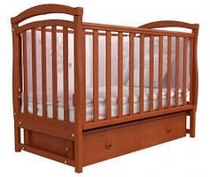 Детская кроватка Соня ЛД6 ольха (маятник, ящик) Верес