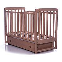 Детская кроватка  Соня ЛД12 бук  (маятник,ящик) Верес