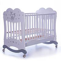 Детская кроватка Feretti Lettino Etoile D`Argent bianco