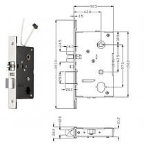 Автономный RFID замок SEVEN Lock SL-7731 Bronze, фото 3