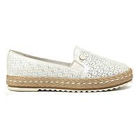 Эспадрильи Woman's heel 39 белые маломерные (О-641)