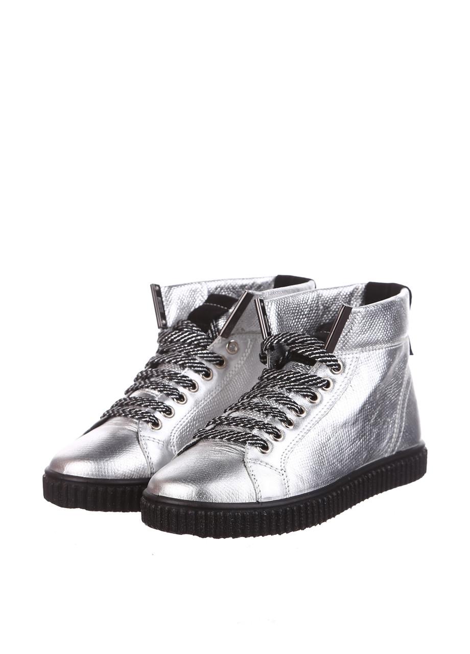 Ботинки Tellus 0002S Серебро