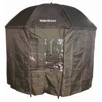 Зонт-палатка рыболовный 2.5м 1 окно ПВХ