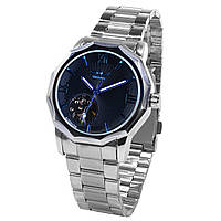 ➤Механические часы Winner Modern Black кварцевые с нержавеющей стали влагозащищенный корпус