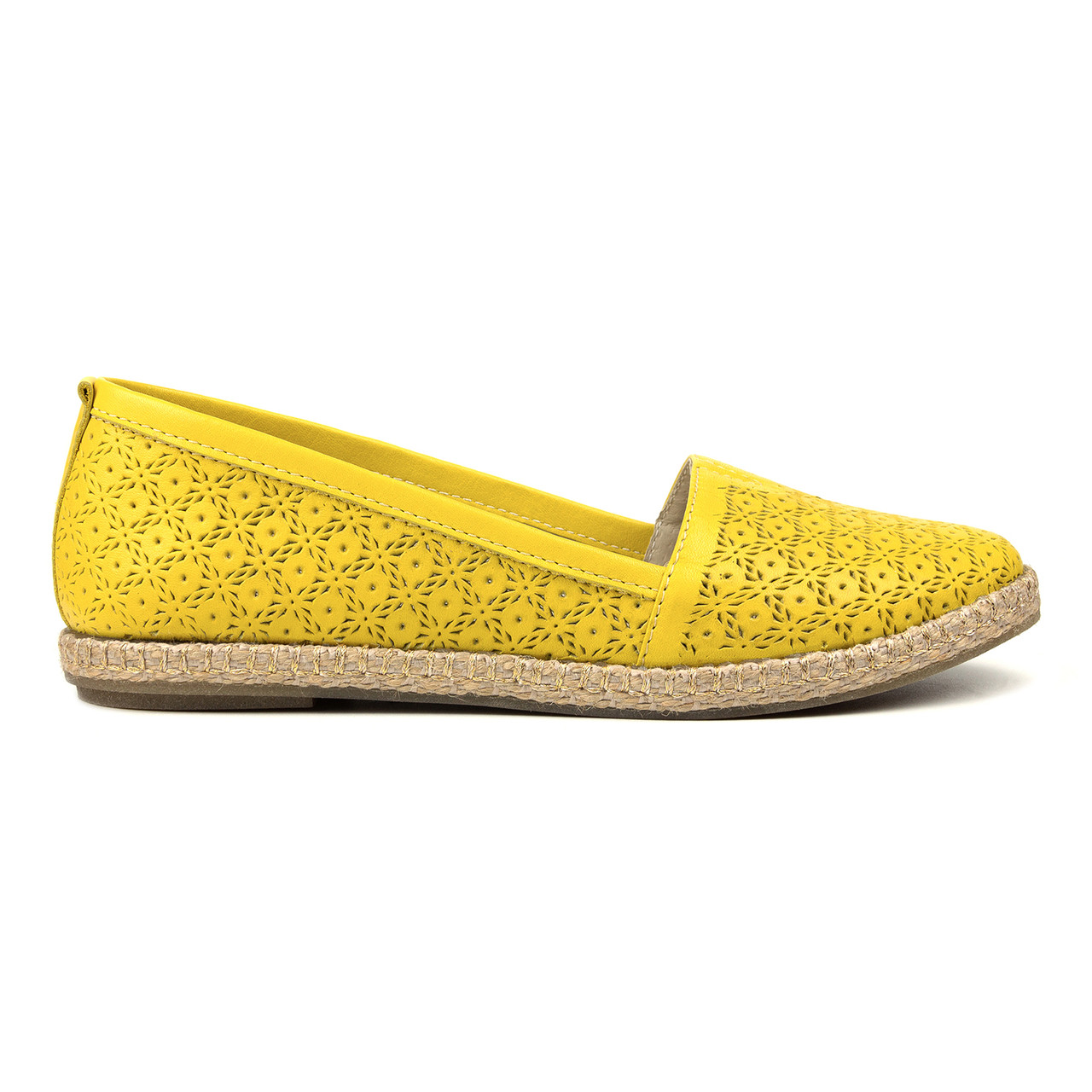 Эспадрильи желтый (О-640)