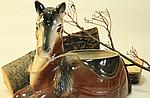 """Кашпо для цветов """"лошадь"""", фото 4"""