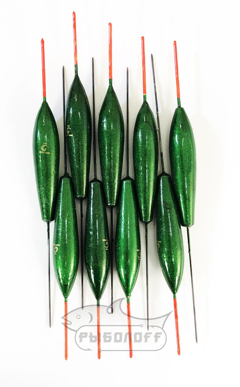 Поплавок Trade Mark зеленый 6г