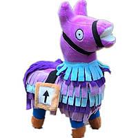 Мягкая игрушка фиолетовая Альпака Фортнайт  Llama Fortnite 55 см FT 63.02