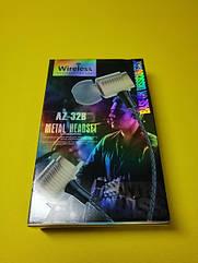 Бездротові Bluetooth-навушники Extra Bass AZ-32B