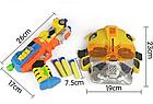 Бластер Игруша на батарейках,Оружие-трансформер с присосками и маской, SB279B, фото 4