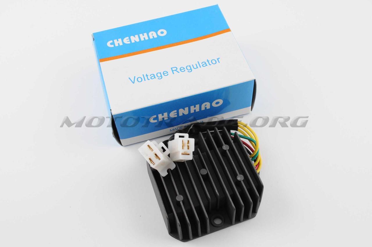 Реле зарядки   4T GY6 125/150   (6 проводов 3+3)   CHENHAO, шт