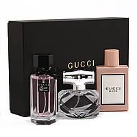 Женский подарочный набор Gucci ( мятая упаковка )