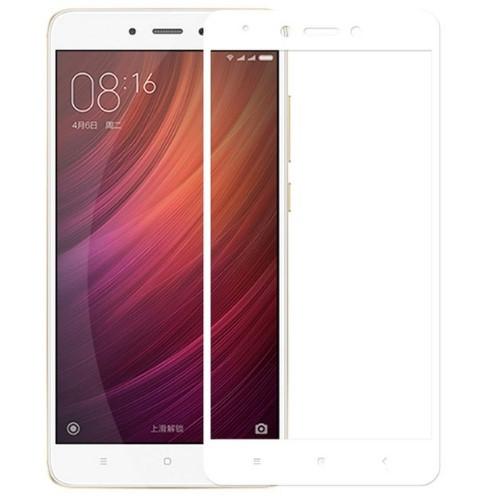 Защитное стекло для Xiaomi Redmi Note 4X Full Cover Rinco (White)