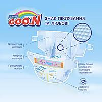 Подгузники GOO.N Super Premium Marshmallow Размер S (4-8 кг) 58 шт 853347 ТМ: GOO.N