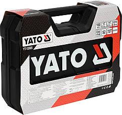Набор инструментов с аккумуляторной отверткой Yato YT-12685 108 предметов, фото 2