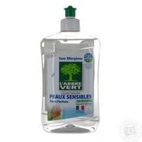 Жидкость для посуды L'Arbre Vert Чувствительная кожа 500мл