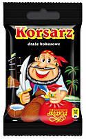 Orzeszki drazetki (орешки -драже кокосовое в шоколаде Корсар  Польша 70г