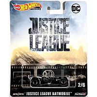 Коллекционная машинка Hot Wheels  Justice League Batmobile