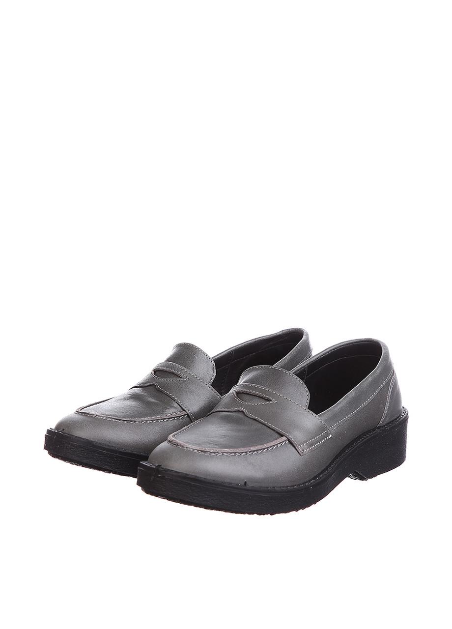 Туфли Tellus 06-01G Серый