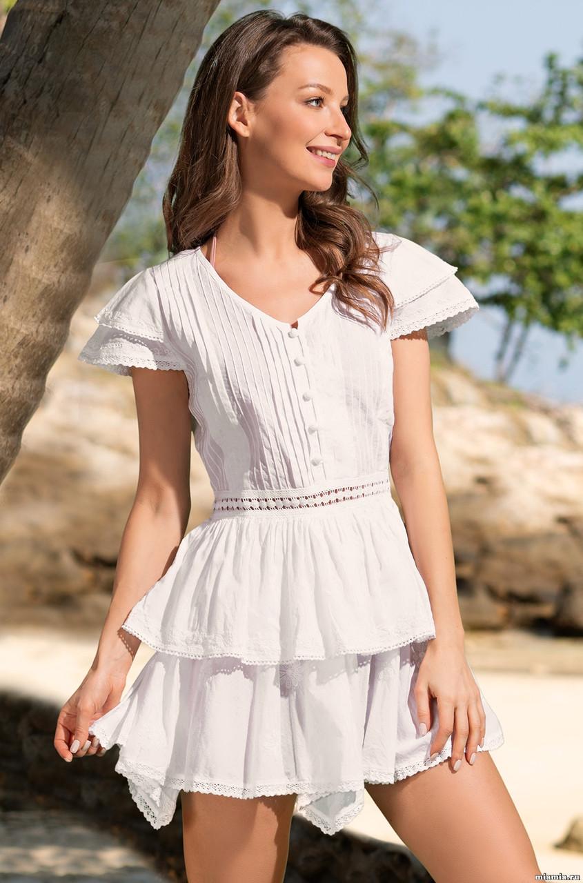 e5c1757f359 Купить Женственное летнее платье. Италия. Mia Mia Санта-Моника 6893 ...