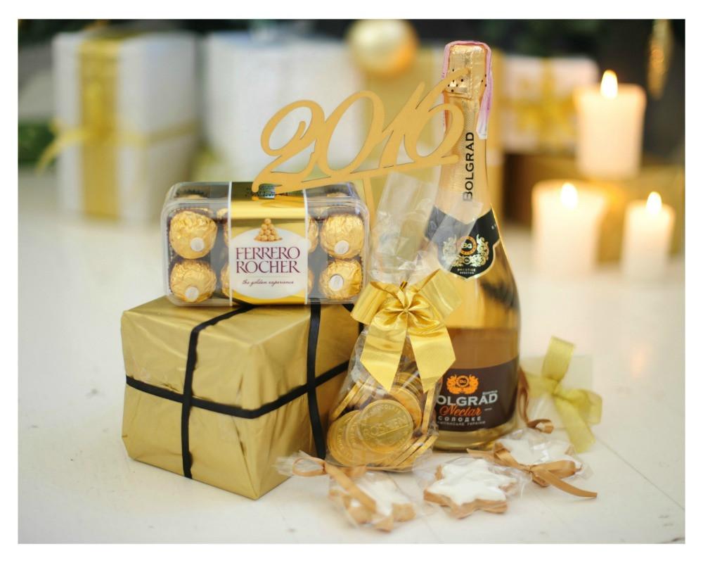"""Подарочный набор на Новый год """"Gold"""""""