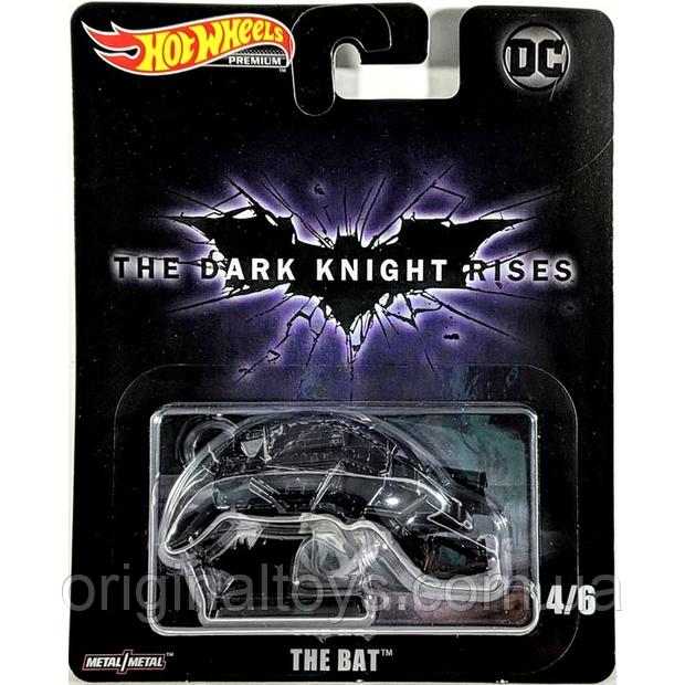 Коллекционная машинка Hot Wheels  The Bat