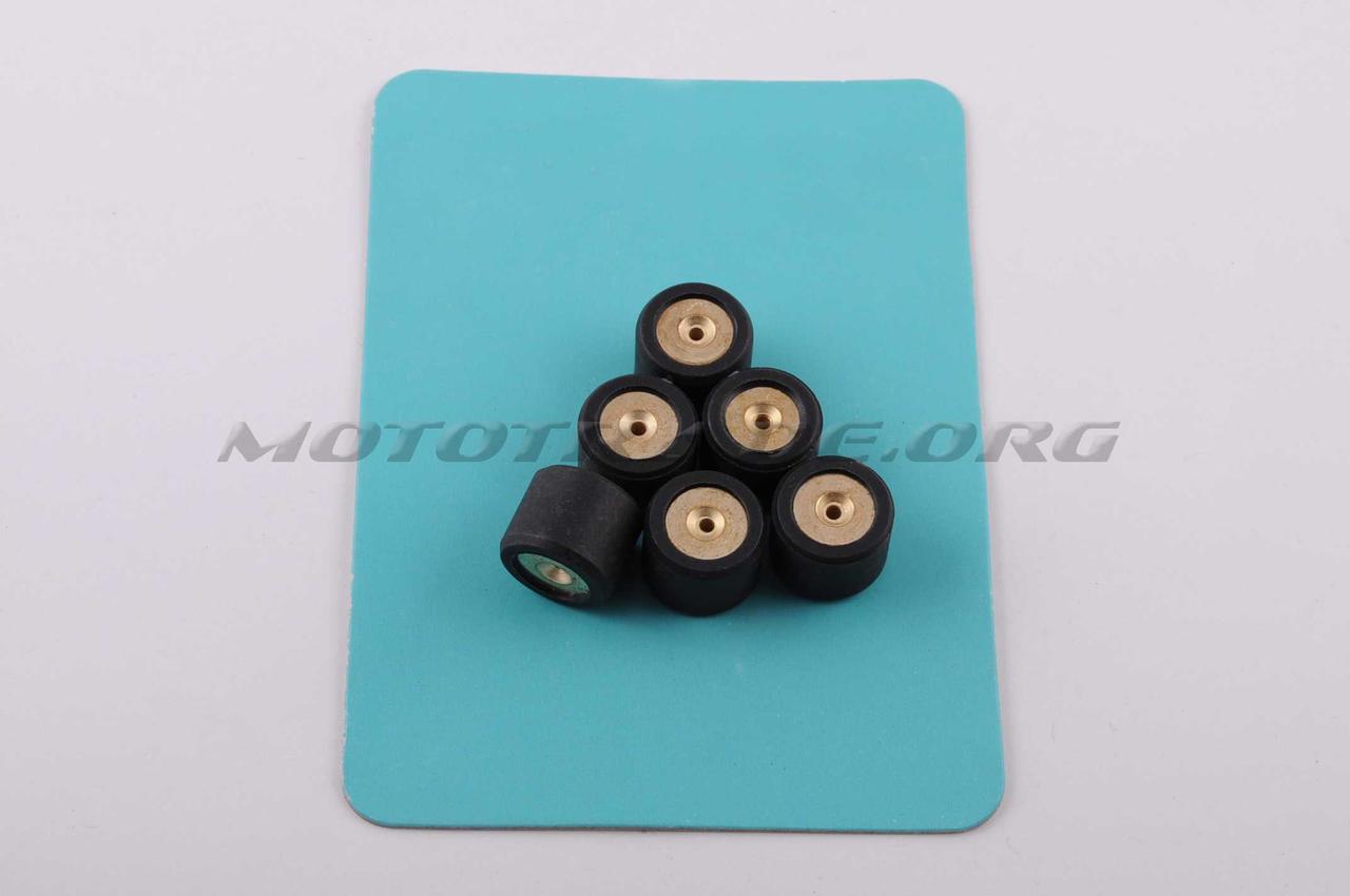 Ролики вариатора   Honda   16*13   11,0г   (черные)   RAINBOW, компл.