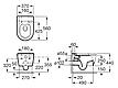 Унитаз подвесной Roca INSPIRA ROUND A346527000, фото 2