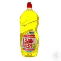 Жидкость мытья посуды Gold drop LemonFresh желтый 1.5л