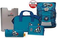Ранец школьный DerDieDas ErgoFlex Vario Blue Octopus 8407067