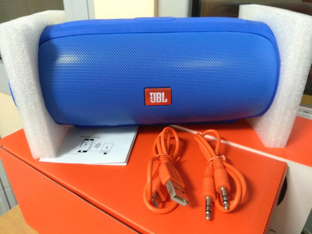 Bluetooth Колонка JBL Charge 4 Speaker Blue (Реплика) Гарантия 3 месяца